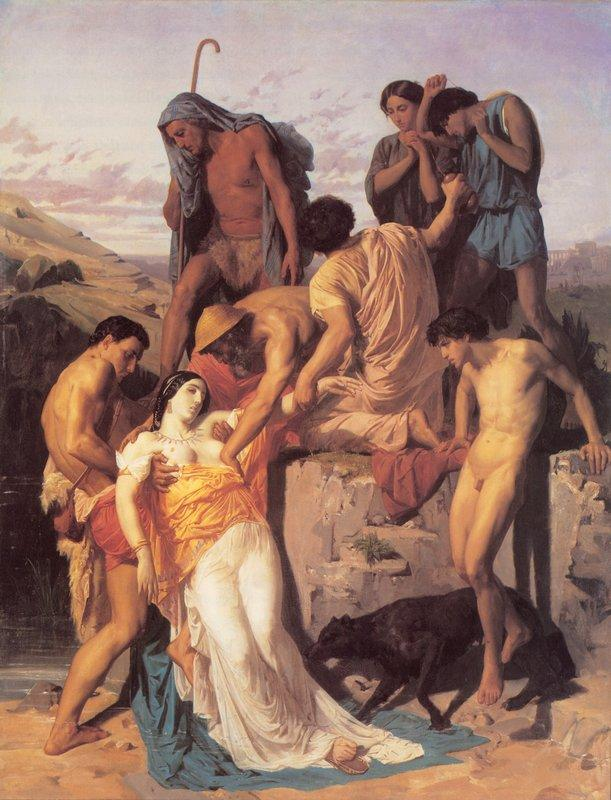 Zenobia found by shepherds on the banks of the Araxes - William-Adolphe Bouguereau