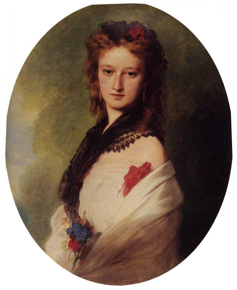 Zofia Potocka, Countess Zamoyska - Franz Xaver Winterhalter