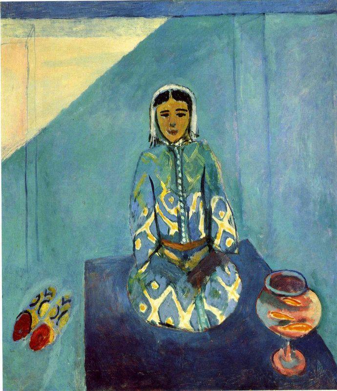 Zorah on the Terrace - Henri Matisse