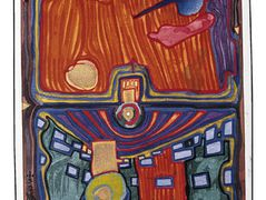 487A  Little Palace of Illness – Friedensreich Hundertwasser