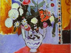 Vase with Two Handles (A Bunch of Flowers) – Henri Matisse
