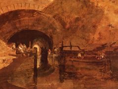 A Canal Tunnel Near Leeds – William Turner