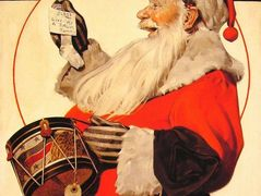 A Drum for Tommy – Norman Rockwell