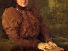 A Lady in Brown — William Merritt Chase