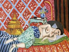 A Nude Lying on her Back – Henri Matisse