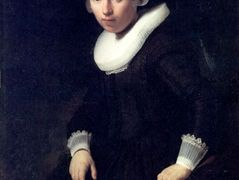 A Portrait of a Young Woman – Rembrandt