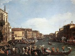 A Regatta on the Grand Canal – Canaletto