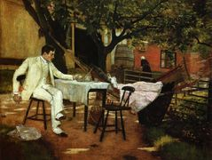 A Summer Afternon in Holland (Sunlight and Shadow) – William Merritt Chase