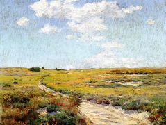 A Sunny Afternoon, Shinnecock Hills — William Merritt Chase