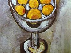 A vase with Oranges – Henri Matisse