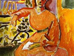A Woman Sitting before the Window – Henri Matisse