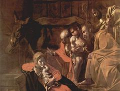 Adoration of the Shepherds — Caravaggio