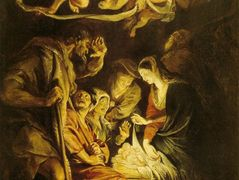 Adoration of the Shepherds – Nicolas Poussin