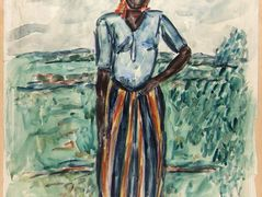African Woman – Study in Tunis – William H. Johnson