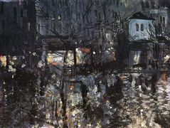 After the rain.Paris – Konstantin Korovin