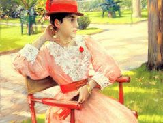 Afternoon In The Park – William Merritt Chase