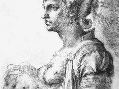 Allegorical figure – Michelangelo