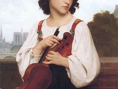 Alone in the world – William-Adolphe Bouguereau