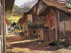 Alps. Village in the Savoie – Zinaida Serebriakova