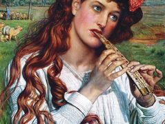 Amaryllis  – William Holman Hunt