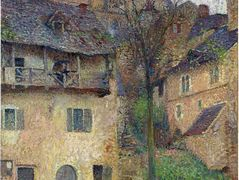 Amount Verg The Church of Saint Cirq Lapopie – Henri Martin