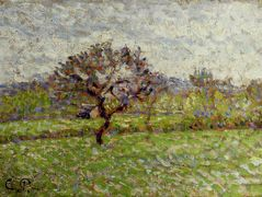 An Apple Tree at Eragny – Camille Pissarro