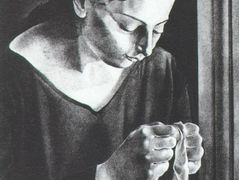 Ana Maria, Sewing – Salvador Dali