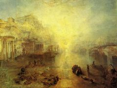 Ancient Italy. Ovid Banished from Rome – William Turner
