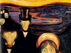 Anxiety – Edvard Munch