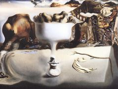 Apparition of Face and Fruit Dish on a Beach – Salvador Dali
