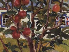 Apple tree — Zinaida Serebriakova