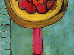 Apples on a Table, Green Background – Henri Matisse