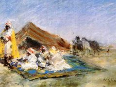 Arab Encampment – William Merritt Chase