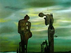 Archeological Reminiscence Millet's Angelus – Salvador Dali