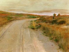 At Shinnecock Hills — William Merritt Chase