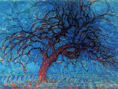 Avond (Evening): The Red Tree — Piet Mondrian