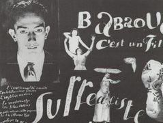Babaouo – Publicity Announcement for the Publication of the Scenario of the Film – Salvador Dali