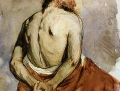 Back of a Male Figure – William Merritt Chase