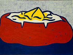 Baked potato – Roy Lichtenstein