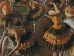 Ballet dancers in their dressing room – Zinaida Serebriakova