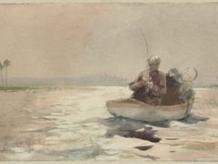 Bass Fishing, Florida – Winslow Homer