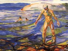Bathing Man – Edvard Munch