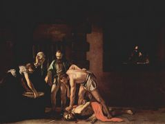 Beheading of Saint John the Baptist – Caravaggio