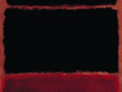 Black in Deep Red – Mark Rothko