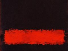 Black, Red and Black – Mark Rothko