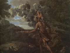 Blind Orion Searching for the Rising Sun – Nicolas Poussin