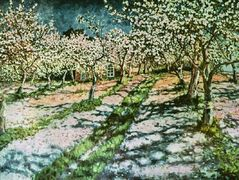 Bloomy Apple Garden – Nikolay Bogdanov-Belsky