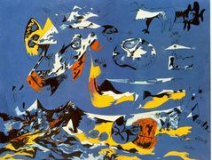 Blue (Moby Dick) – Jackson Pollock