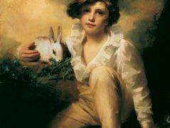 Boy and Rabbit – Henry Raeburn