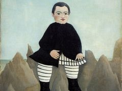 Boy on the Rocks  – Henri Rousseau